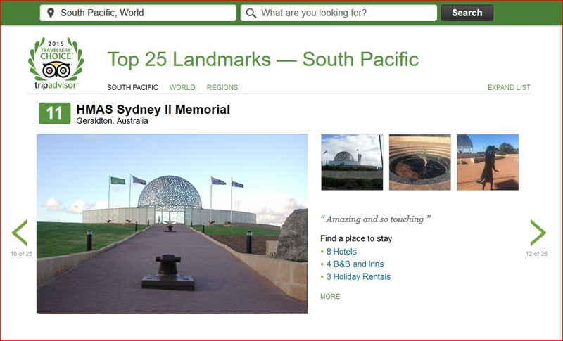 Top 25 Landmarks — South Pacific