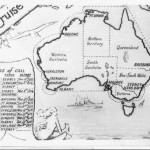 tn_1937 Round Australia Cruise Card