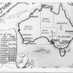 tn_1937 Round Australia Cruise Card