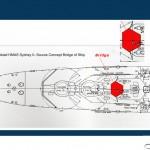 'Look out area'  based on HMAS Sydney Bridge