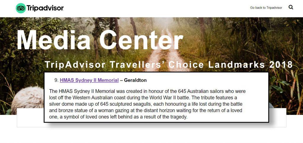 TripAdvisor Travellers' Choice Landmarks